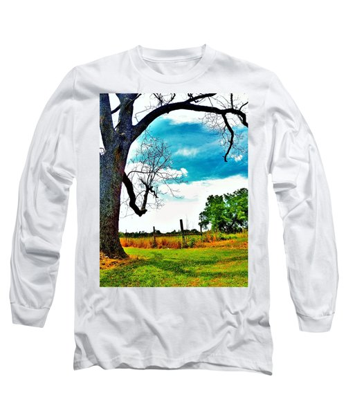 Long Sleeve T-Shirt featuring the photograph Daydreamer by Faith Williams