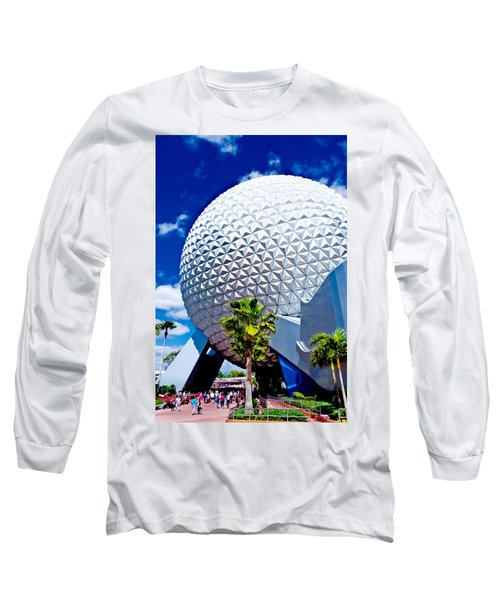 Daylight Dome Long Sleeve T-Shirt by Greg Fortier