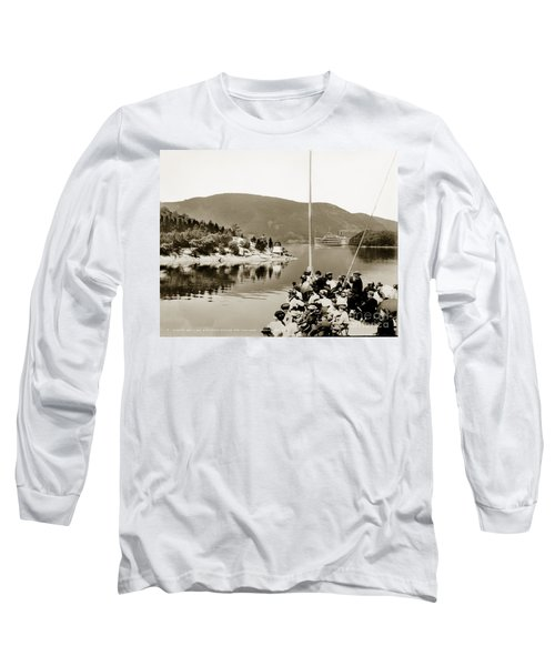 Dayliner At The Narrows In Sepia Tone Long Sleeve T-Shirt