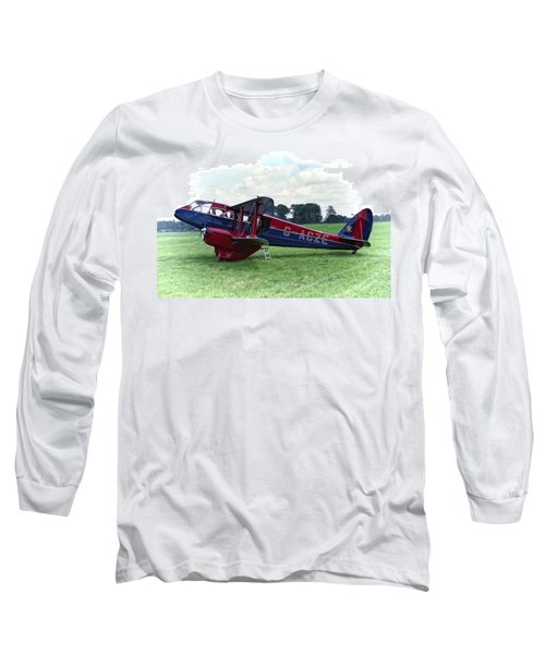 De Havilland Dragon Rapide Long Sleeve T-Shirt