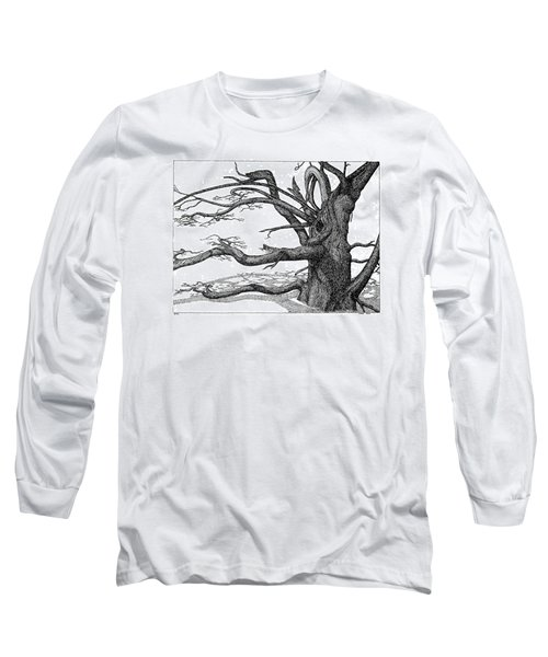 Dead Tree Long Sleeve T-Shirt by Daniel Reed