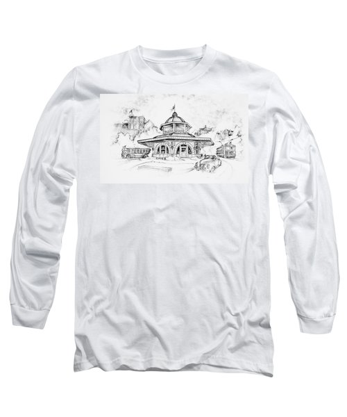 Decatur Transfer House Long Sleeve T-Shirt by Scott and Dixie Wiley