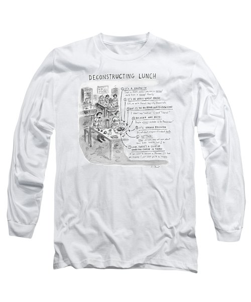 Deconstructing Lunch Long Sleeve T-Shirt