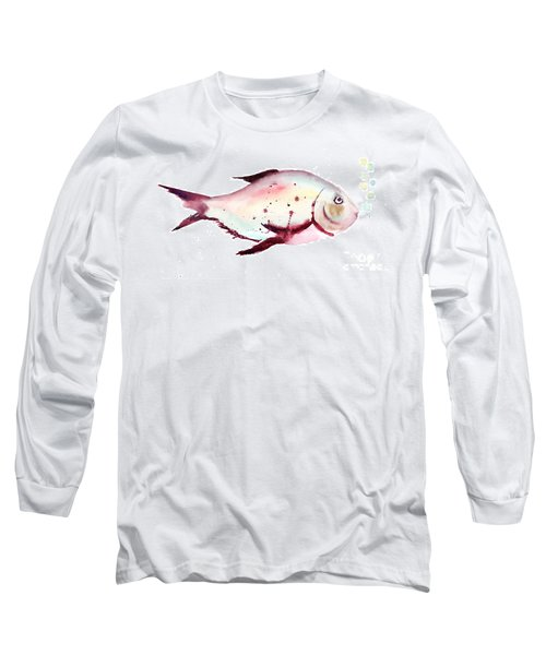 Decorative Fish Long Sleeve T-Shirt