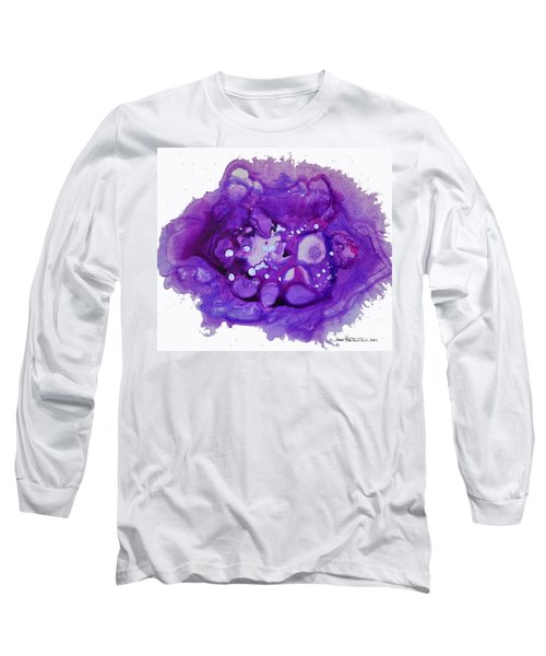 Deep Purple Long Sleeve T-Shirt by Joan Hartenstein