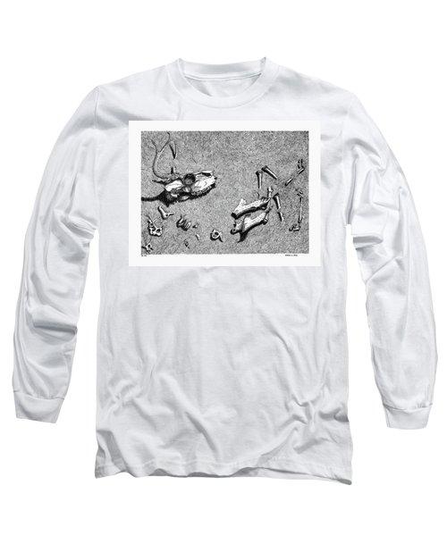 Deer Bones Long Sleeve T-Shirt
