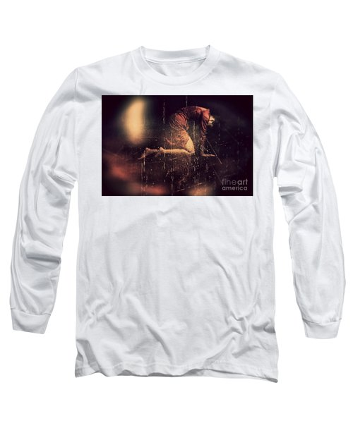 Defeated Long Sleeve T-Shirt by Jessica Shelton