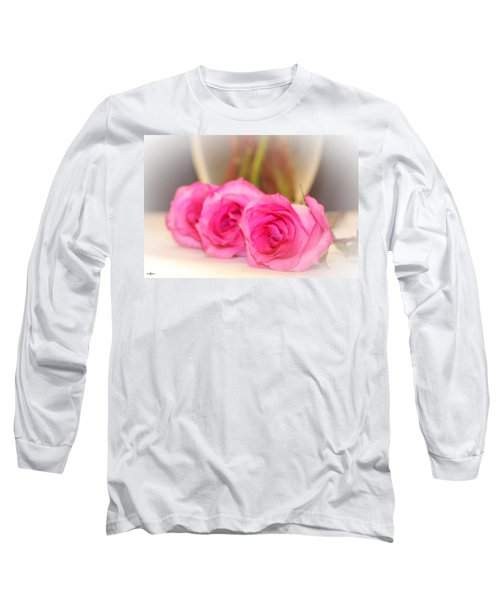 Delicate In Pink  Long Sleeve T-Shirt