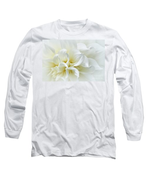 Delicate White Softness Long Sleeve T-Shirt