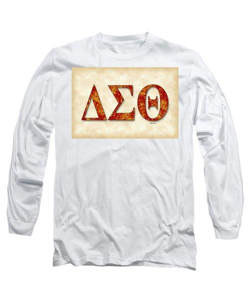Delta Sigma Theta - Parchment Long Sleeve T-Shirt