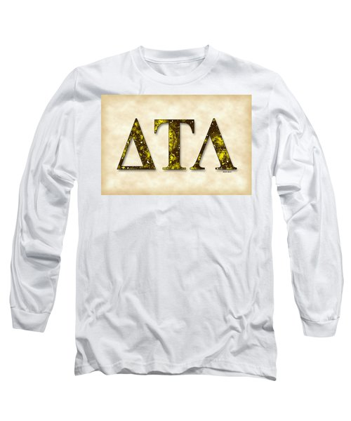 Delta Tau Lambda - Parchment Long Sleeve T-Shirt by Stephen Younts