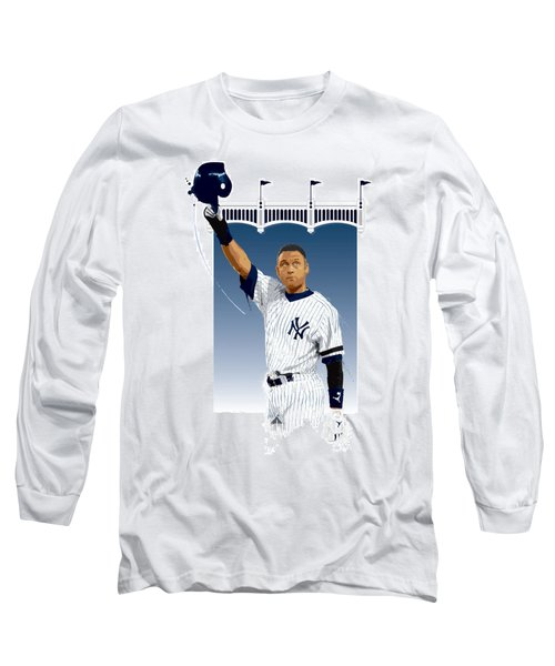 Derek Jeter 3000 Hits Long Sleeve T-Shirt