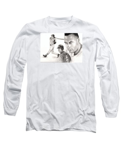 Derek Jeter Long Sleeve T-Shirt