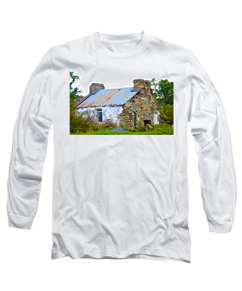 Derelict Long Sleeve T-Shirt by Charlie Brock
