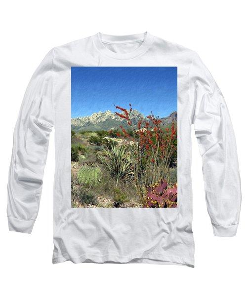 Desert Bloom Long Sleeve T-Shirt