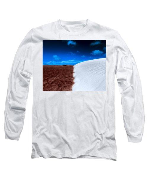 Desert Sand And Sky Long Sleeve T-Shirt
