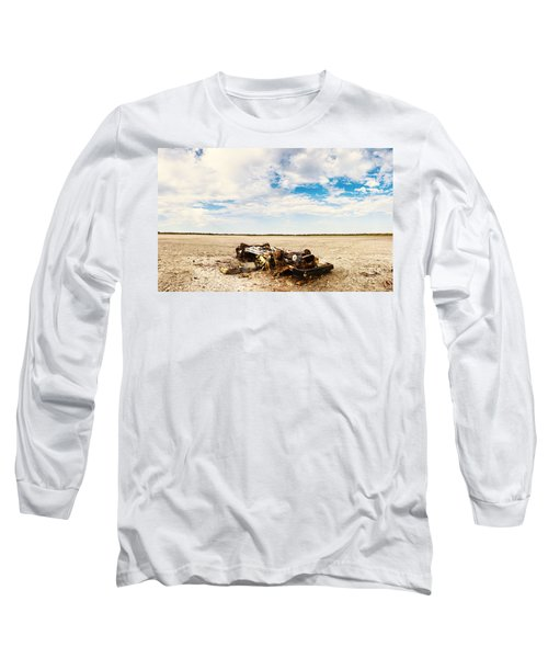 Desolate Desert Wasteland. Deception Bay Long Sleeve T-Shirt
