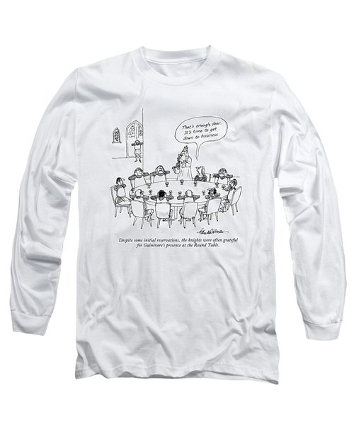 Despite Some Initial Reservations Long Sleeve T-Shirt