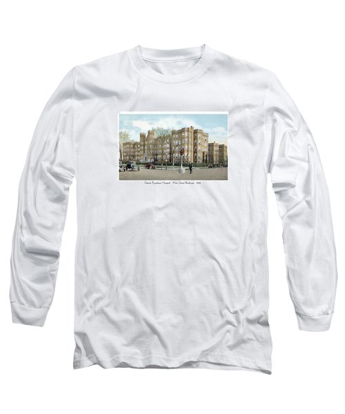 Detroit - Providence Hospital - West Grand Boulevard - 1926 Long Sleeve T-Shirt