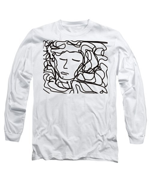 Digital Doodle Long Sleeve T-Shirt