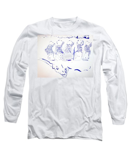 Dinka Wise Virgins -south Sudan Long Sleeve T-Shirt