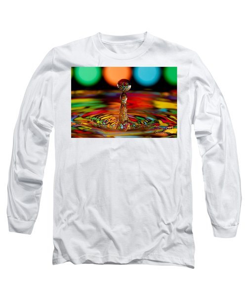 Disco Ball Drop Long Sleeve T-Shirt by Anthony Sacco