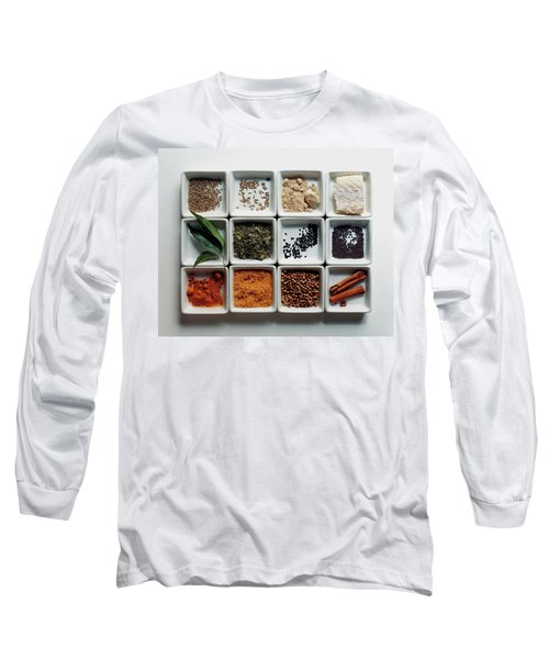 Dishes Of Spices Long Sleeve T-Shirt