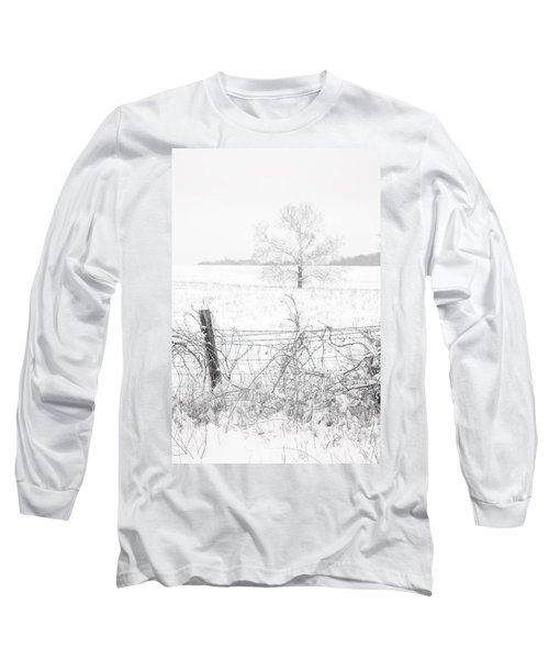 Distant Tree Long Sleeve T-Shirt