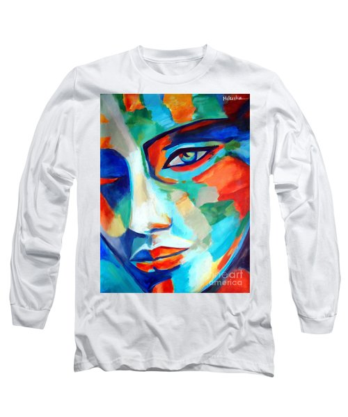 Divine Consciousness Long Sleeve T-Shirt by Helena Wierzbicki