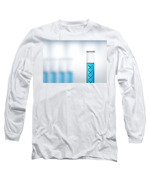 Dna Research Or Testing In A Laboratory Long Sleeve T-Shirt