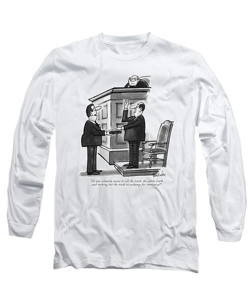 Do You Solemnly Swear To Tell The Truth Long Sleeve T-Shirt