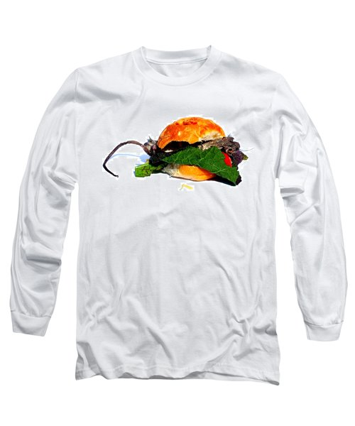 Do You Want Flies With That? Long Sleeve T-Shirt
