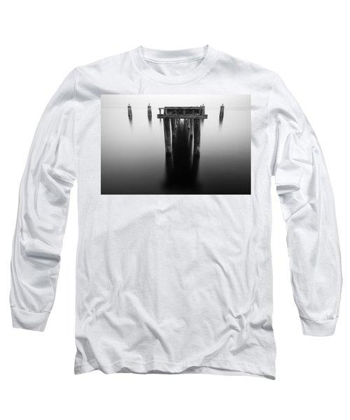 Dock At Twilight Long Sleeve T-Shirt