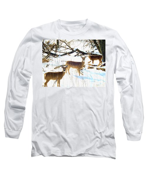 Does In The Snow Long Sleeve T-Shirt
