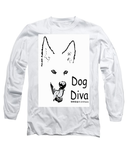 Dog Diva Long Sleeve T-Shirt