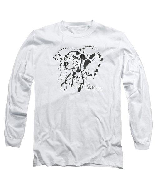 Dog Spot Long Sleeve T-Shirt by Go Van Kampen