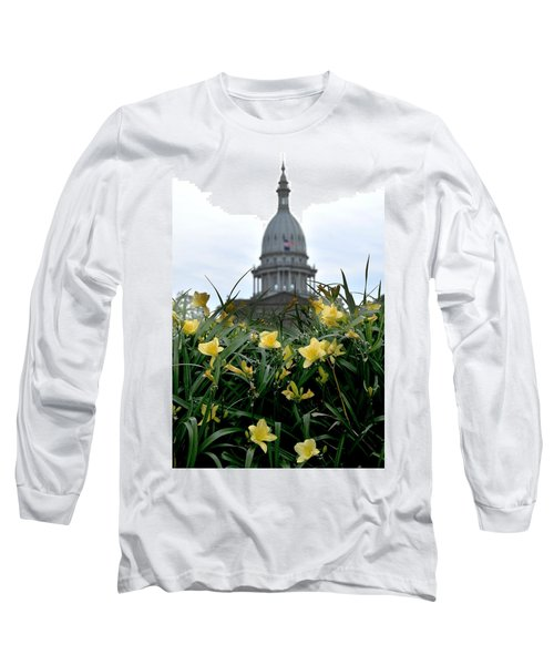 Dome Through The Daffodils Long Sleeve T-Shirt