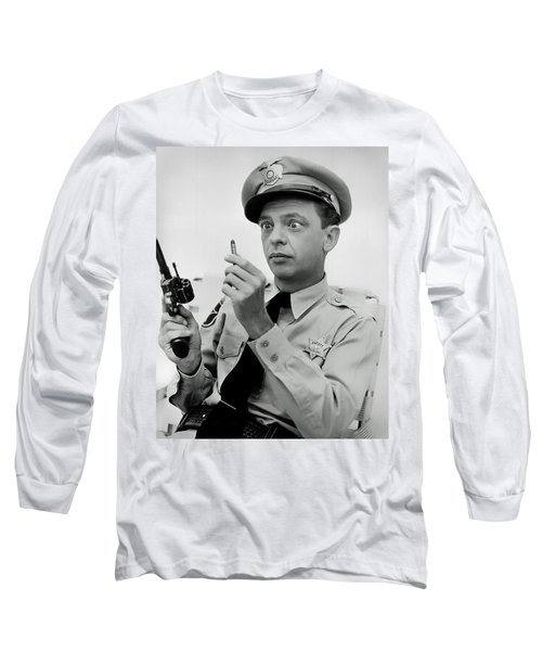 Barney Fife - Don Knotts Long Sleeve T-Shirt by Mountain Dreams