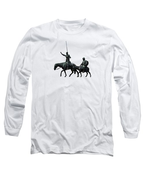 Don Quixote And Sancho Panza  Long Sleeve T-Shirt