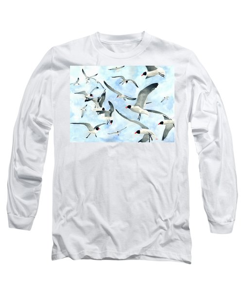 Don't Feed The Seagulls Long Sleeve T-Shirt