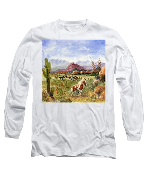 Don't Fence Me In Part One Long Sleeve T-Shirt