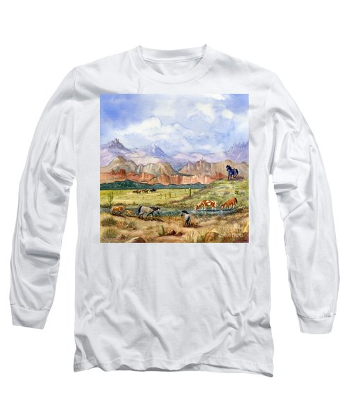 Don't Fence Me In Part Three Long Sleeve T-Shirt