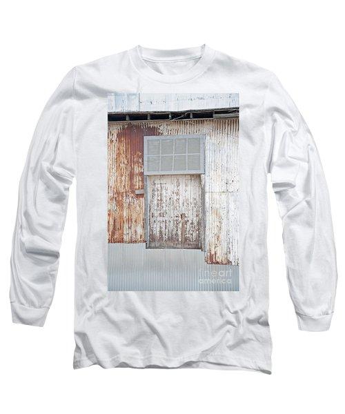 Long Sleeve T-Shirt featuring the photograph Door 2 by Minnie Lippiatt