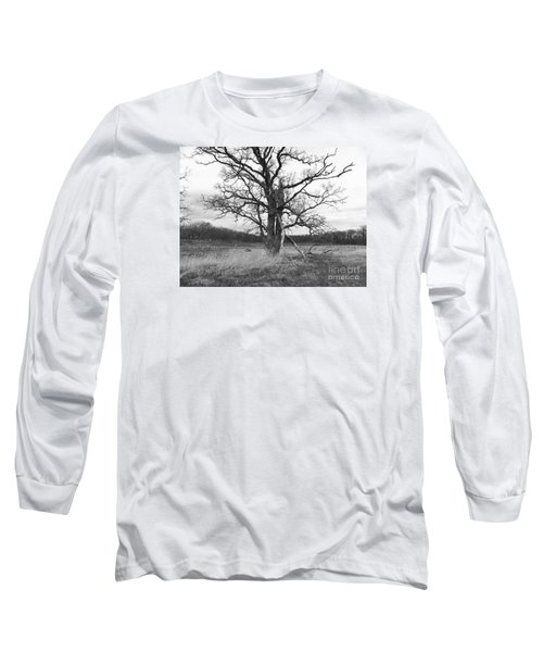 Dormant Beauty Bw Long Sleeve T-Shirt