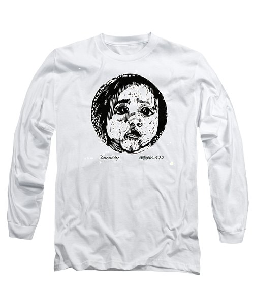 Long Sleeve T-Shirt featuring the relief Dorothy by Seth Weaver