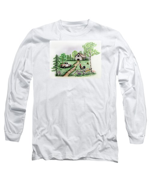 Down On The Farm Long Sleeve T-Shirt