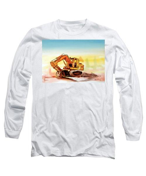 Dozer October Long Sleeve T-Shirt by Kip DeVore