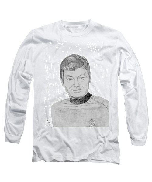 Dr. Leonard Mccoy Long Sleeve T-Shirt