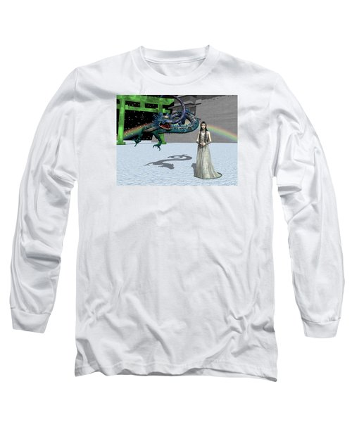 Dragon New Year Long Sleeve T-Shirt by Michele Wilson