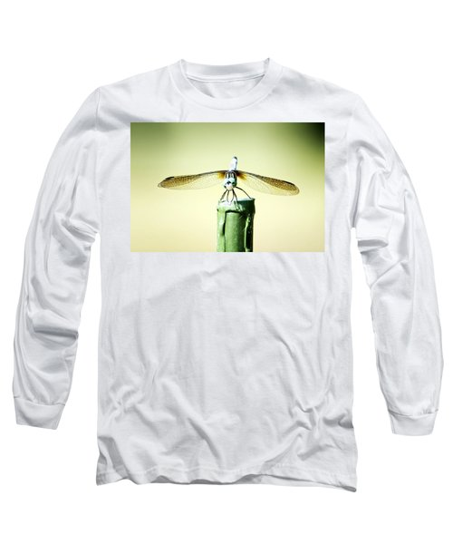 Dragonfly Long Sleeve T-Shirt by Michael White